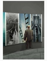 wall mounted standing display 052_6243 ImageHolders