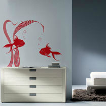 wall sticker (animals) FISHES Paristic