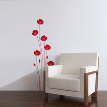 wall sticker (nature: flower) POPPIES Paristic