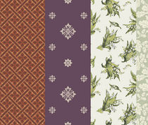 wallpaper: floral pattern BANBURY Lee Jofa