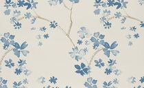 wallpaper: floral pattern MILO AZUL Ka-International
