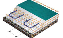 warm water underfloor heating for industrial use INDUSTRY Jupiter Underfloor Heating