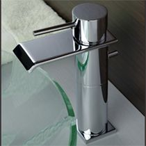 washbasin single handle mixer tap ZEN RÉHAUSSÉ 100MM MARGOT