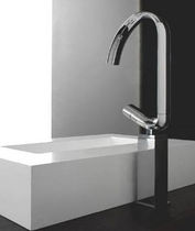 washbasin single handle mixer tap NOOX MONO by Luca Ceri ZAZZERI