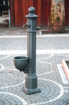 water dispenser for public spaces LAYIA by Domenico Neri  NERI