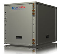 water/water geothermal heat pump W-SERIES boreal energy