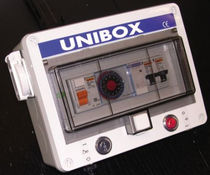 waterproof programmable control panel for swimming pool (for filtration and projectors) UNIBOX UNIPOOL
