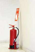 wayfinding signage FIRE EXTINGUISHER STAND Vista System
