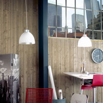 wide wall panelling in wood (PEFC certified) DÉCO MÉTAL Silverwood