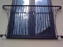 window railing  New Forest Metal Work