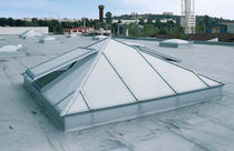 window for flat roof ESSMANN &reg; GLASS PYRAMID TYPE 980 LJ Pratley &amp; Partners Ltd 