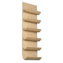 wine shelf VERTICAL OAK Vinnomio