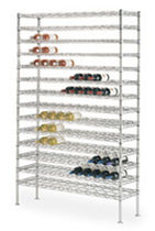 wine shelf WINE CRADLE METRO SHELVING TRUE