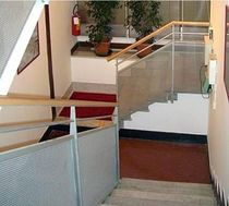 wire mesh railing REMIG SPA - GENOVA  ALUSCALAE