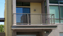 wire mesh railing  CR Laurence 