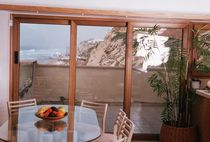 wood-aluminium casement patio door ZAFFIRO BUONANNO
