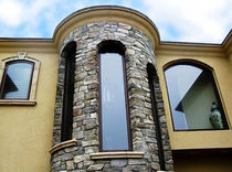 wood-aluminium fixed window  Panda Windows & Doors