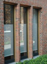 wood-aluminium fixed window HI & HV Becker-Haus