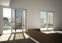 wood-aluminium sliding patio door SW 130S Starwood