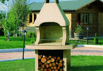 wood burning barbecue PONZA italiakalor