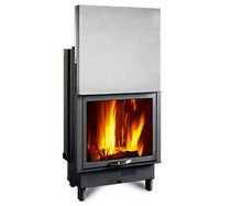 wood-burning closed hearth for boiler fireplaces TERMOCAMINO 650 PIANO  Nordica