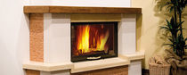 wood-burning closed hearth for boiler fireplaces TERMOCAMINO 800 PIANO  Nordica