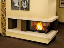 wood-burning closed hearth for corner fireplaces MONOBLOCCO 800 ANGOLO  Nordica