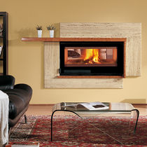 wood-burning closed hearth for double-sided fireplaces 100 BIFACcIAL  Nordica