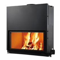 wood-burning closed hearth for fireplaces FLAT 100 EDILKAMIN