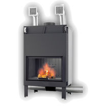 wood-burning closed hearth for fireplaces ALFA GIROLAMI CAMINETTI