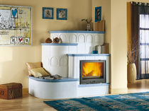 wood-burning closed hearth for fireplaces 70 PIANO Nordica