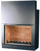 wood-burning closed hearth for fireplaces AX-F1200 Axis