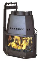 wood-burning closed hearth for fireplaces 3187 - A GODIN
