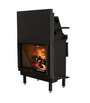 wood-burning closed hearth for fireplaces (retractable door) N-27 Nordpeis