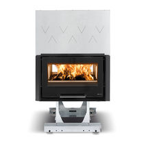 wood-burning closed hearth for double-sided fireplaces 80 BIFACCIALE HYBRID Nordica