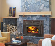 wood-burning fireplace insert VOYAGEUR QUADRA-FIRE