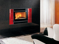wood-burning fireplace insert 80 CRYSTAL VENTILATO  Nordica