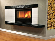 wood-burning fireplace insert 100 CRYSTAL VENTILATO  Nordica