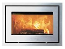 wood-burning fireplace insert LOTUS H470 H Broseley Fires