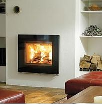 wood-burning fireplace insert LOTUS H570 G Broseley Fires