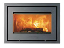 wood-burning fireplace insert H470 LOTUS Heating Systems A/S