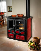 wood burning range cooker / boiler EMILIANA MET MANN
