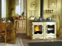 wood burning traditional range cooker AMERICA Nordica