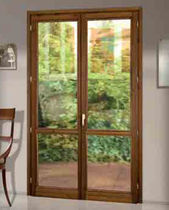 wood casement french window FIRENZE COMECA GROUP