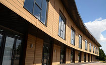 wood composite facade cladding  Dura Composites