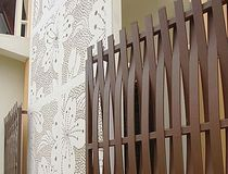 wood composite garden fence SHERA Mahaphant Fibre-Cement (Public) Co.,Ltd.