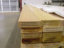 wood deck board CLEAR & KNOTTY GRADES Enyeart Cedar Products