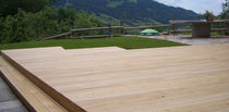 wood deck board CHALET Accsys Technologies