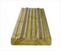 wood deck board Q-GRIP Hoppings Softwood Products Plc