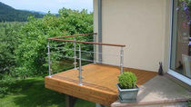 wood deck board (hidden fastener) TERRASSES AVEC FIXATION INVISIBLE Groupe grad